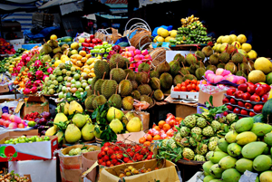 fruit van thailand