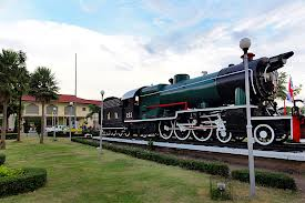 train station korat thailand